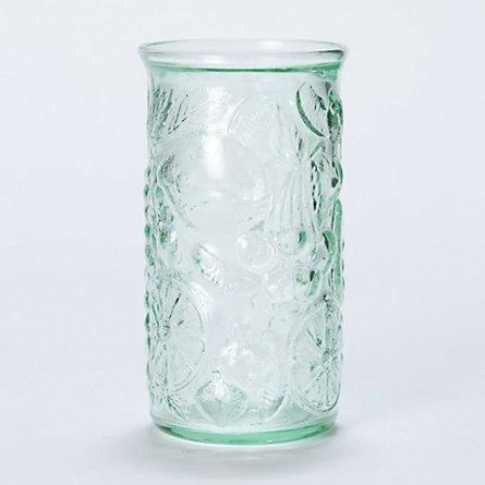 16-oz tumbler, 100% recycled glass  Tropical Tumbler  #green #recycled #shopterrain $8.00