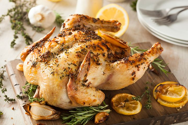 Chef Roble's Whole Roasted Chicken: Check out this step-by-step recipe to help you roast a chicken with ease.