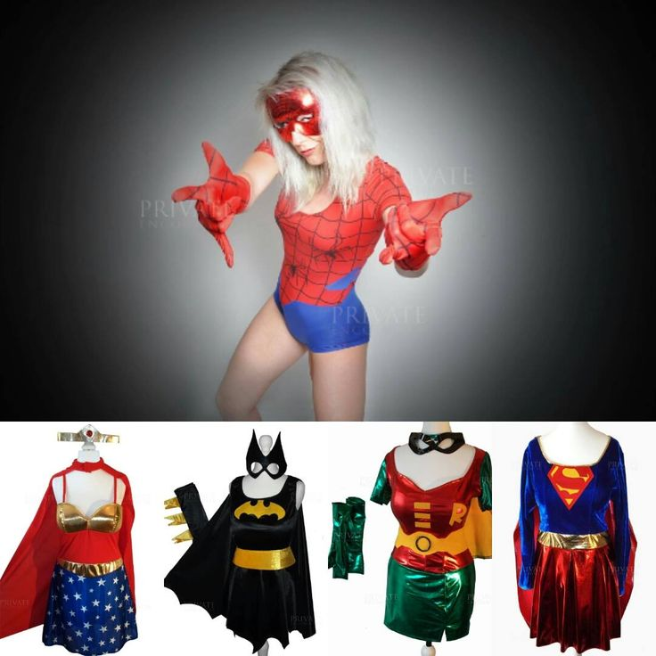Become a superhero in one of our great superhero fancy dress costumes!! We also have a super range of fun accessories. Available from www.privateencounter.co.uk  #Superhero #batgirl #spidergirl #robin #superwoman #mask #Fancydress #follow4follow