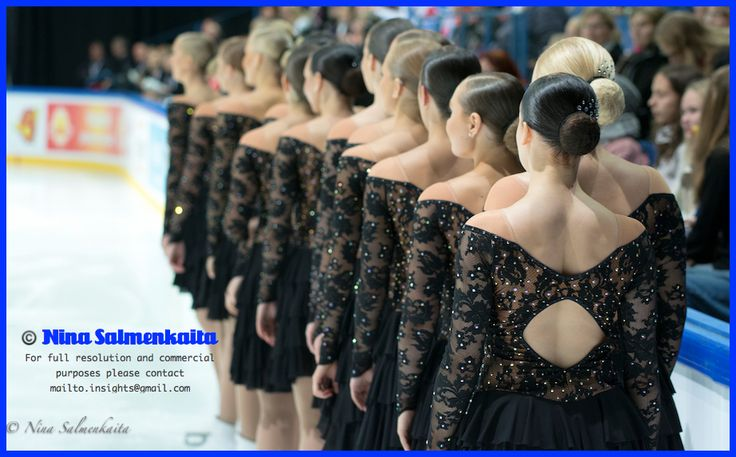 Rockettes FIN at Finlandia Trophy Oct 2014