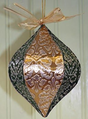 How to make embossed metal ornaments.