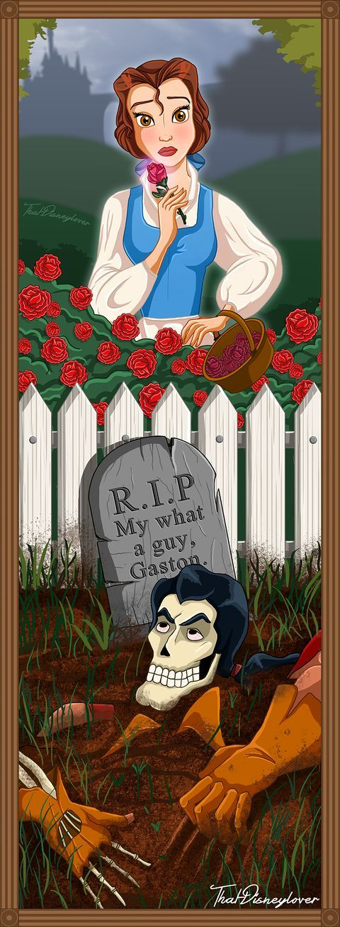 Disney Villains and Heroines as Haunted Mansion Stretching Portraits | moviepilot.com