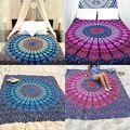 Estera de Yoga indio Mandala Tapiz de Boho Beach Mat Tiro Toalla Tapiz Decoración