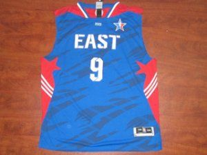 Boston Celtics NBA #9 Rajon Rondo 2013 All Star Blue Jersey [F300]