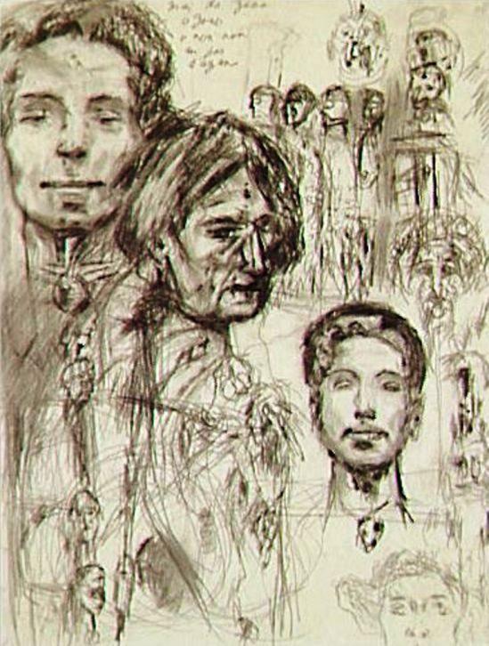 Antonin Artaud. Non daté
