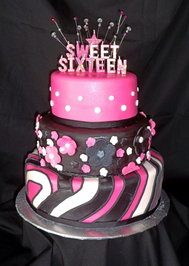 Best Sweet  Ideas Images On Pinterest Th Birthday Sweet - Sweet 16 birthday cakes