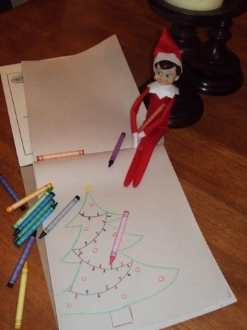 Elf on the Shelf Ideas by kelly.evanswoodford