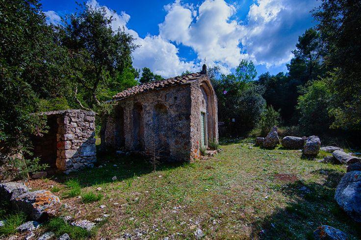 SvLukaLastovo The pre-Romanesque church of Sv. Luke, Lastovo , 11th century / Croatia #croatia #preromanesque