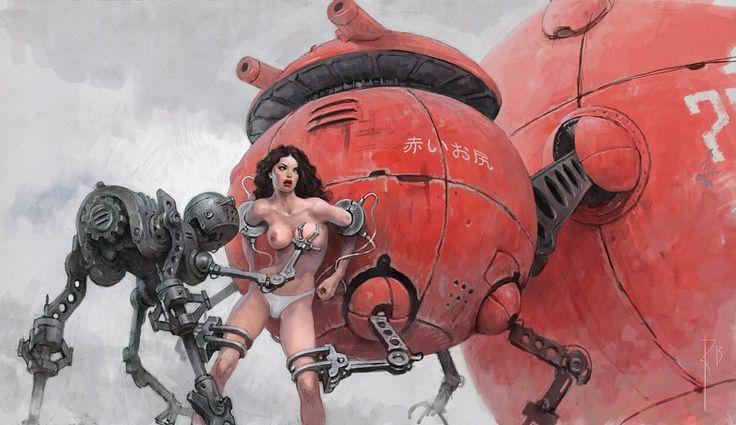 Waldemar Kazak  Metal funny robots