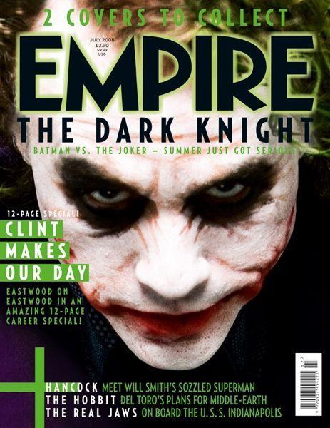Heath Ledger - Empire Magazine Cover [United Kingdom] (2 July 2008)