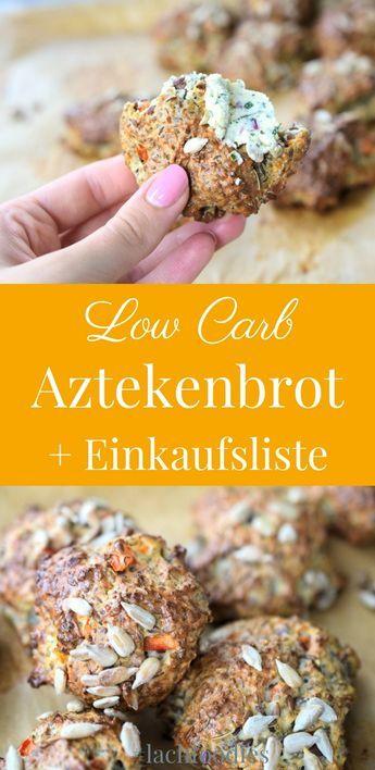 Azteken-Schatz-Brot ohne Kohlenhydrate + kostenlose Einkaufsliste. ...... Low carb, lc, lchf, keto, ketogen, brot, bread, essen ohne Kohlenhydrate, gesund essen, abnehmen, abnehmen Rezepte, abnehmen Rezepte deutsch, healthy, low carb frühstück, low carb breakfast, low carb Brot Rezept, low carb backen, Tassenkuchen, Mikrowellen Brot, low carb Brötchen, Brot ohne Hefe, Brot ohne Mehl, Brot ohne Weizen, Brot ohne Weizenmehl, glutenfrei, glutenfreies Brot, glutenfreie Rezepte, glutenfreie…