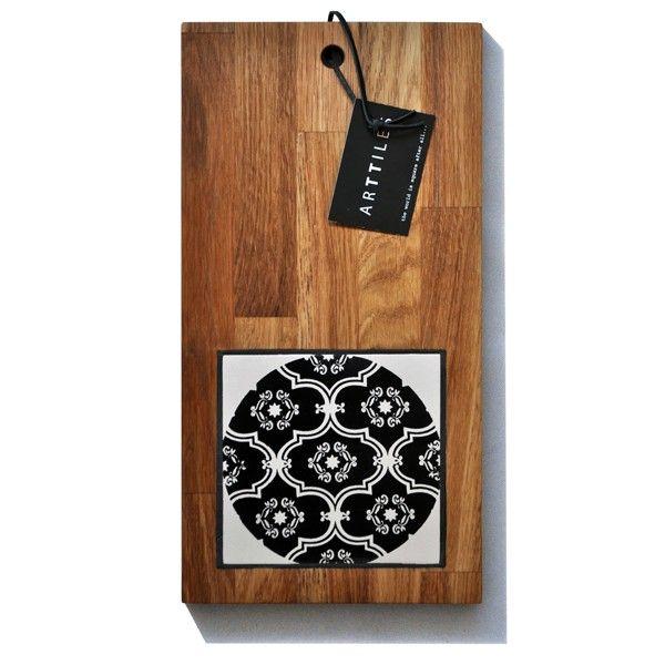 Oak board - Platterida black