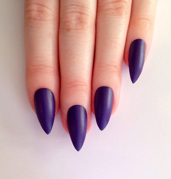 https://www.etsy.com/listing/180737814/matte-purple-stiletto-nails-nail-designs?ref=related-1