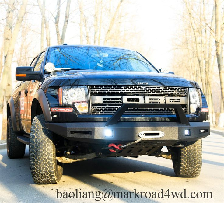 Blade Worrior Front bumper designed by Markroad Vehicles