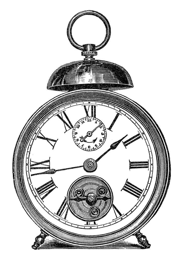 Orologi, tic tac, orologi, tic tac...Vintage Printable.... use for gift tags