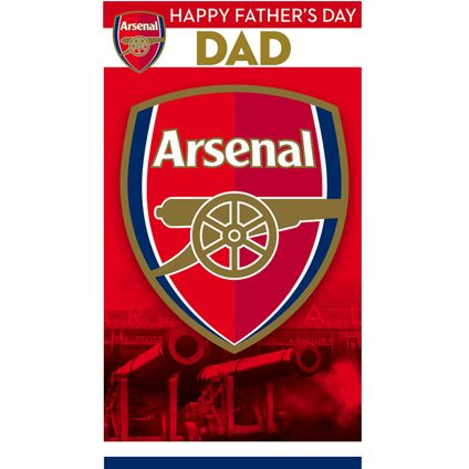 Buy this Arsenal Father's Dad Card directly from publishers Danilo.com with Free UK Delivery. Worldwide shipping also available