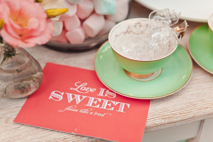 Take a treat 'cause love is sweet!