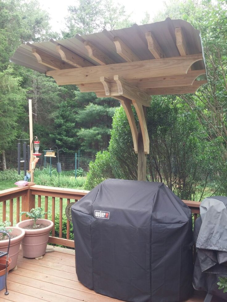 Pergola Grill Cover Made It Memorial Day Grill Gazebo