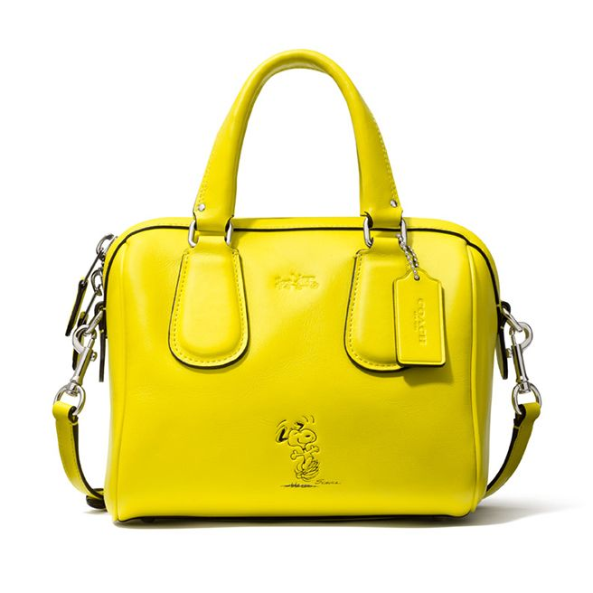 Coach's Unlikely Cartoon Collaboration - Elle SNOOPY BAGS!!!