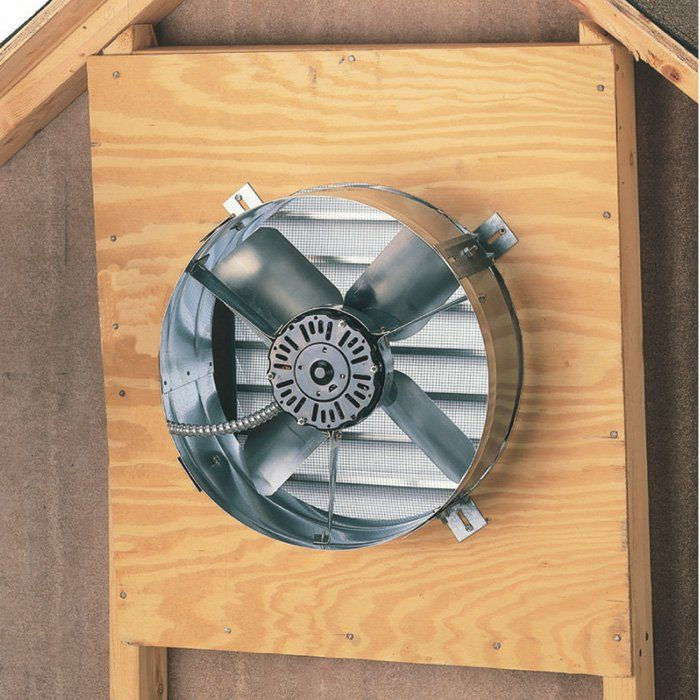 Cool Attic Gable Mount Attic Exhaust Ventilator Fan 1 300 Cfm Model Cx1500ups Northern Too Attic Exhaust Fan Garage Workshop Garage Workshop Organization