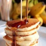 Banana Nut Silver Dollar Pancakes #12bloggers - Big Bear's Wife