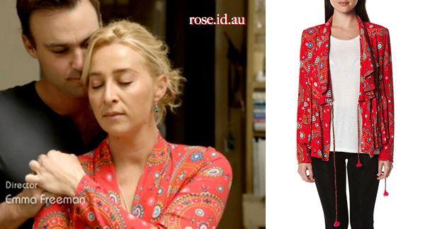 Nina Proudman Fashion: Tigerlily Universe Jacket in Gypsea Red http://www.rose.id.au/fashion/nina-proudman/nina-proudman-fashion-tigerlily-universe-jacket-gypsea-red.html