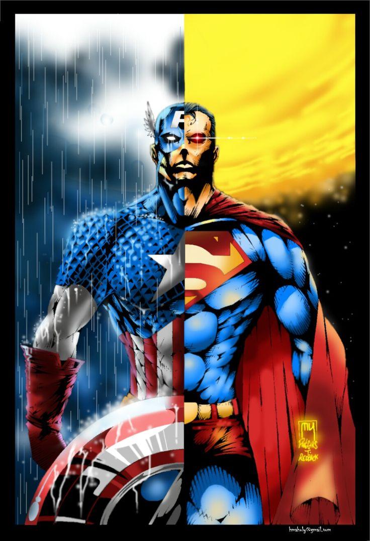 Captain america & Superman