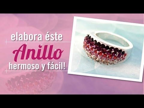 #DIY #HazloTuMismo Como hacer un anillo con masilla Wglue con Carolina V...