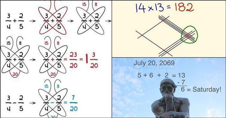 How the Japanese do math is impressive :o