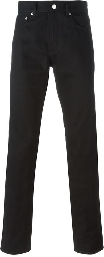 Givenchy studded slim fit jeans