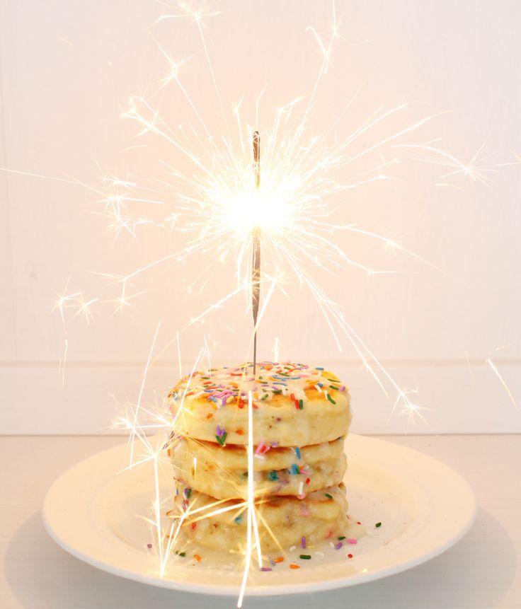 Best 25 Birthday cake pancakes ideas on Pinterest Birthday