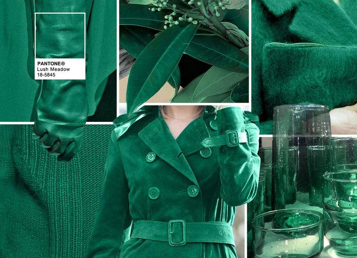 Pantone Fashion Color Report Fall 2016 - PANTONE 18-5845 Lush Meadow