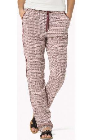 Dames-katoenen-broeken-Tommy-Hilfiger-Bedrukte-Broek-Van-Katoenviscose.jpg (300×450)