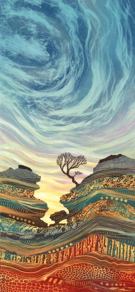 Keep me hanging on... Rebecca Vincent... Amazing use of color and always those awesome trees!!