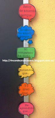 Rincón de una maestra: Bocadillos expresión oral