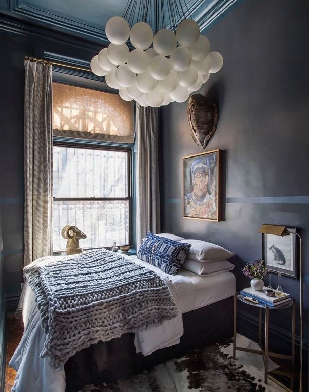 17 best images about chic bedrooms on pinterest neutral Small dark bedroom ideas