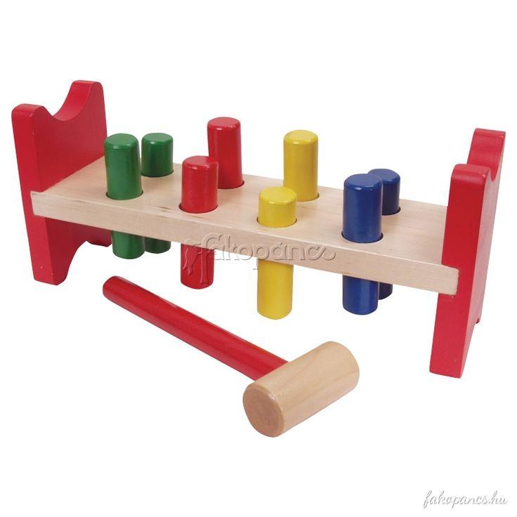 +A+kalapálós+játékok+nagy+koncentrációt+igényelnek,+melyben+a+kéz+és+a+szem+is+együtt+dolgozik.+Segít+a+koordinált+mozgásfejlesztésben+és+a+színekkel+való+ismerkedésben.