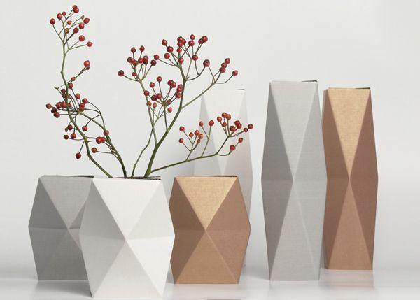 Folding vase by snug.studio