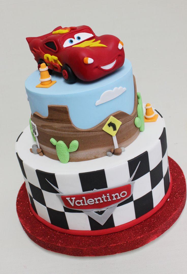 Cars Cake  Violeta Glace
