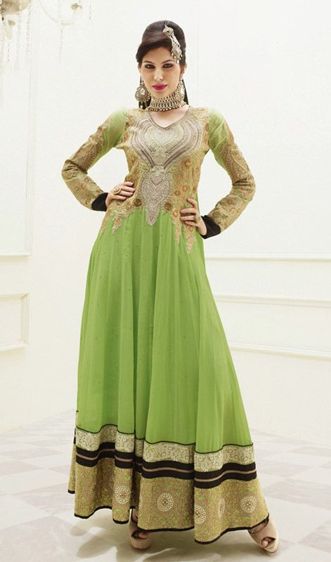 Honeydew colored dress