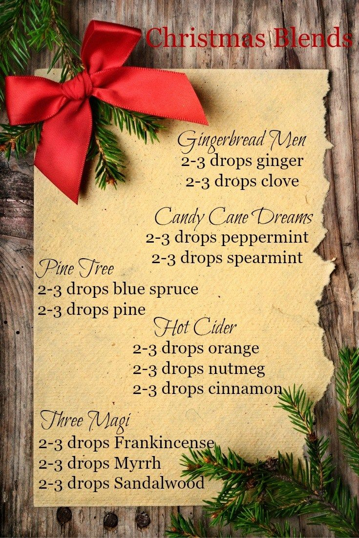 Pine trees... gingerbread men... what are your favorite Christmas scents? I've compiled five of my favorite Christmas diffuser blends to make your holiday aromatic and bright!