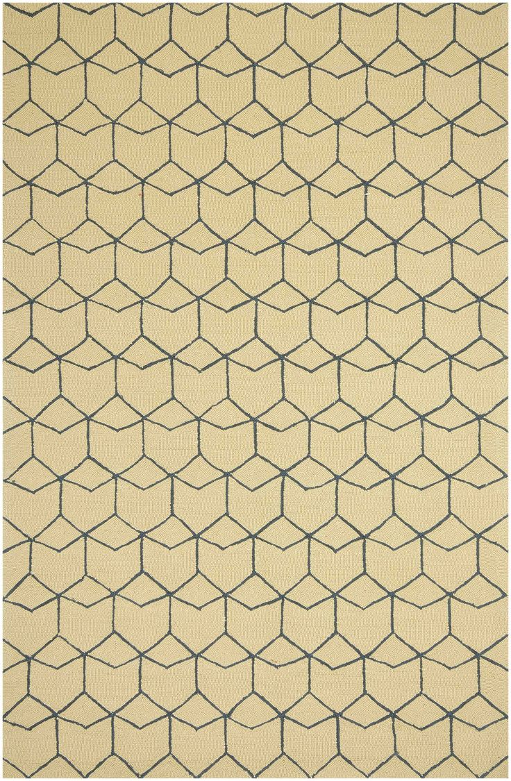 best rugs images on pinterest  for the home area rugs and  - modern cubism indooroutdoor rug ivory