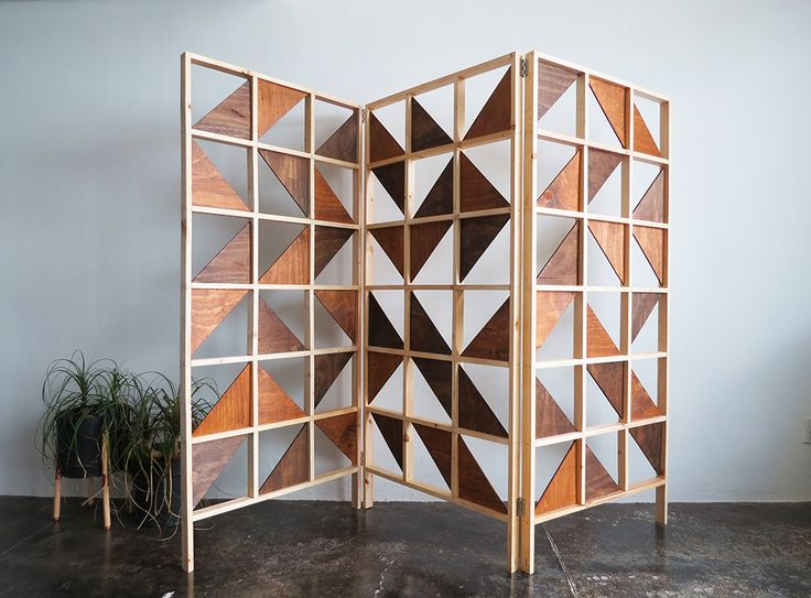 How to make a geometric room divider