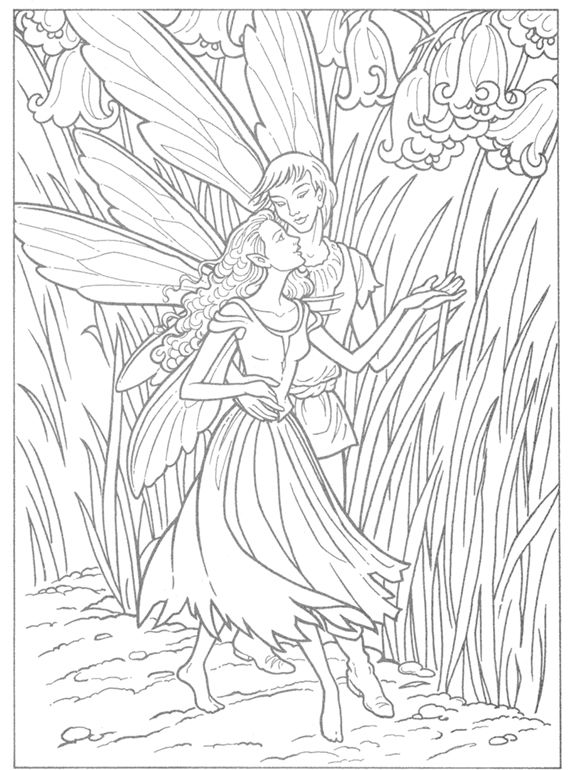welcome to dover publications fairy coloring pagescoloring