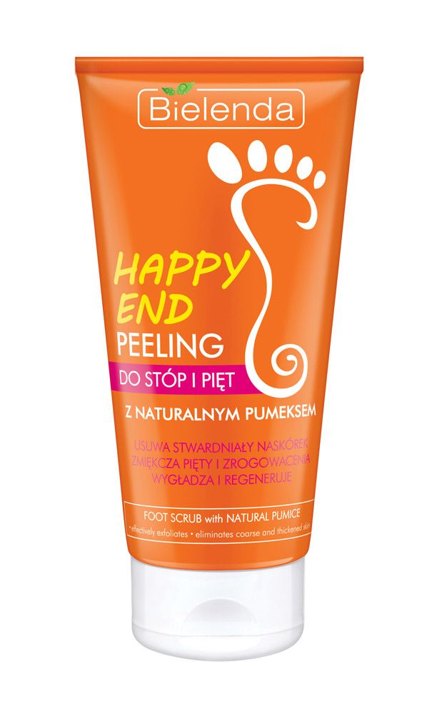 Bielenda HAPPY END Scrub for feet with natural pumice 125ml BI194229 | Visagist