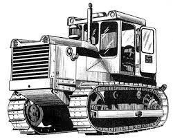 Картинки по запросу трактор рисунок спереди