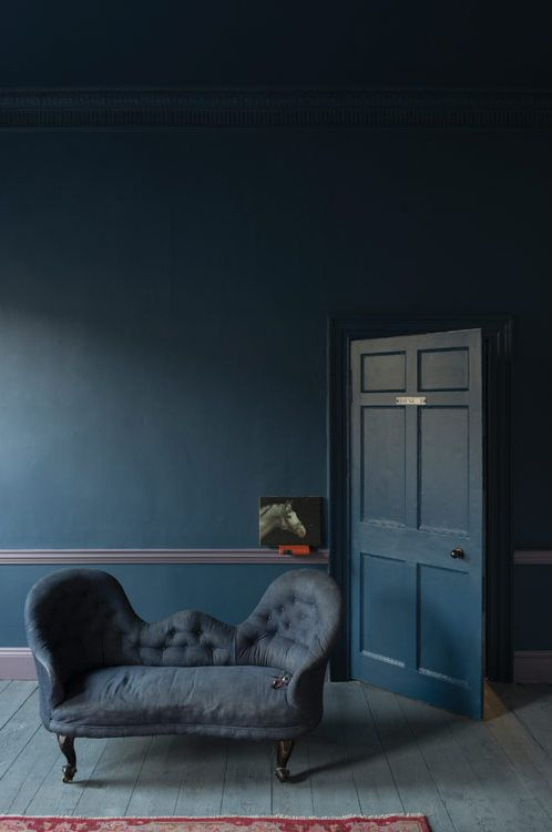 Farrow & Ball new 2013 paint colour - 'Stiffkey Blue'