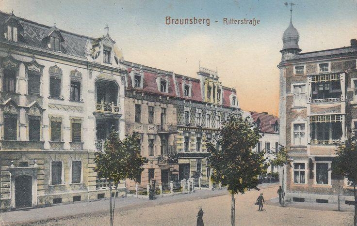 AK Braunsberg Ostpr. mit Ritterstraße, 1916 gelaufen