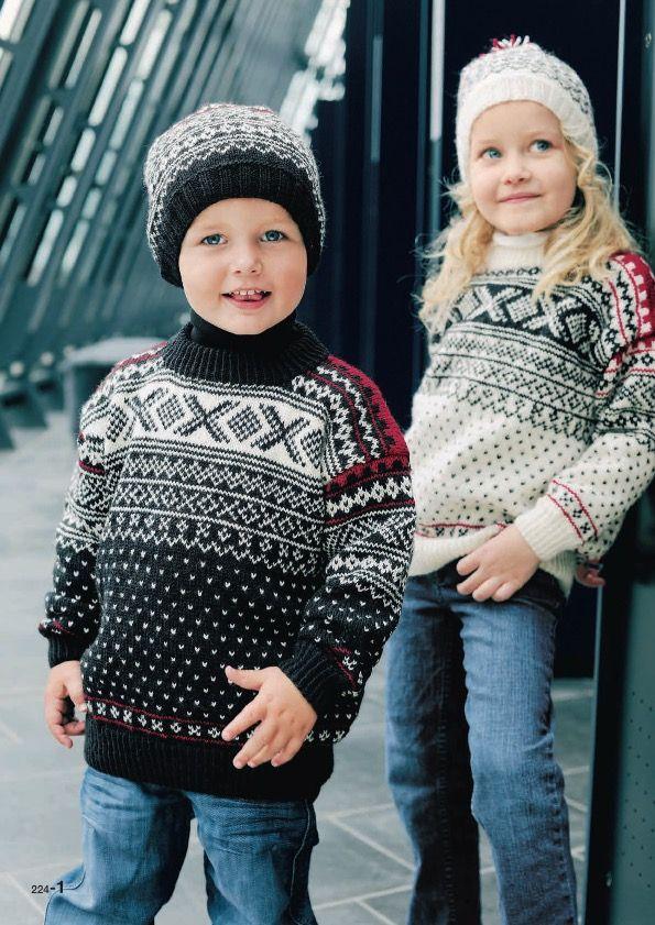 long fit genser barn