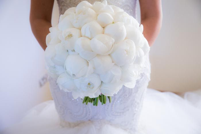 A bouquet of white peonies. Credits in comment.